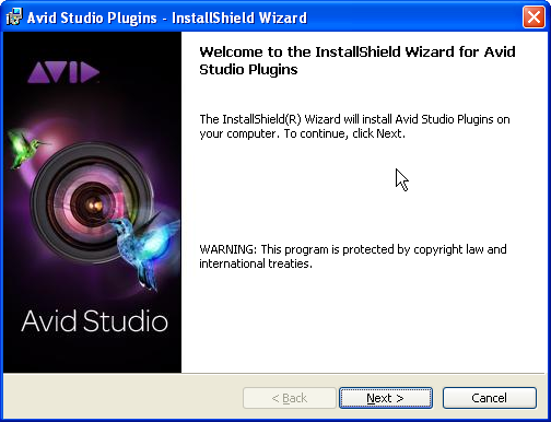 Plugins installation wizard