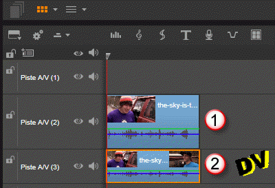 Overview of the timeline used to blur a face with the old method