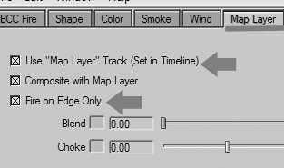 Paramètres de la Layer map