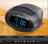 A digital alarm clock created with Boris Graffiti and intended to be integrated into Studio 17