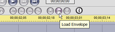 "The ""Load Envelope"" button"