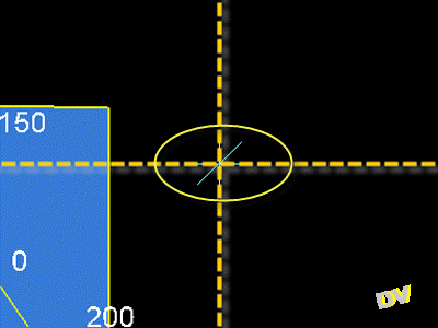 Application of a pivot 100 in Y and 300 in X