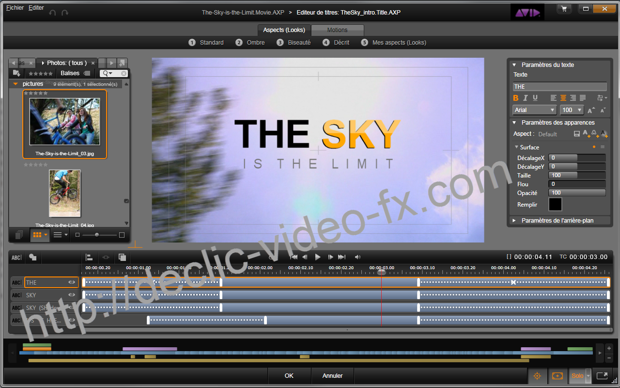 Avid Studio Screen Capture