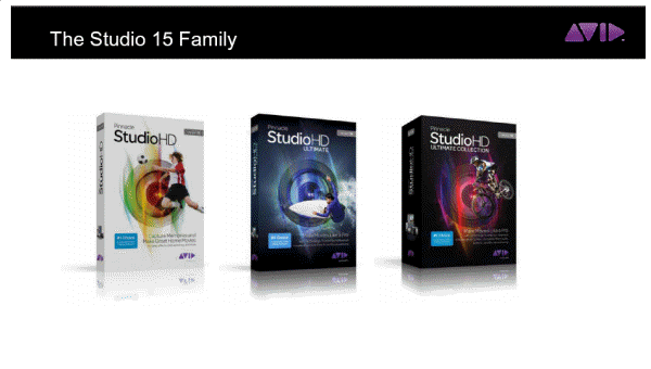 The Studio 15 range
