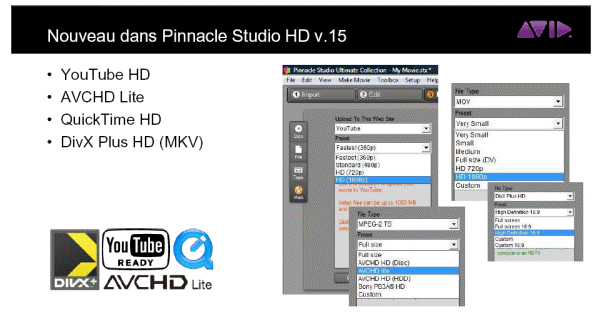 New features in Studio HD V15