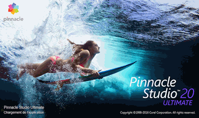 Pinnacle Studio 20 splash screen