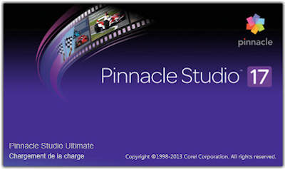 Pinnacle Studio 17 splash screen