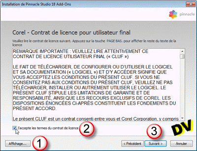 The add-ons license agreement
