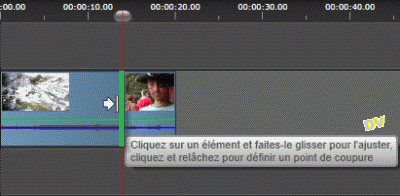 Allongement du 1er clip