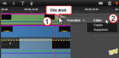 Edit transition