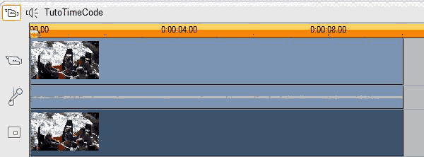 Tracks of the Studio timeline